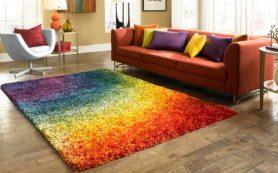 Современные ковры формируют стиль интерьера