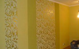 Приклеенный на стены гипсокартон сохраняет площадь помещения