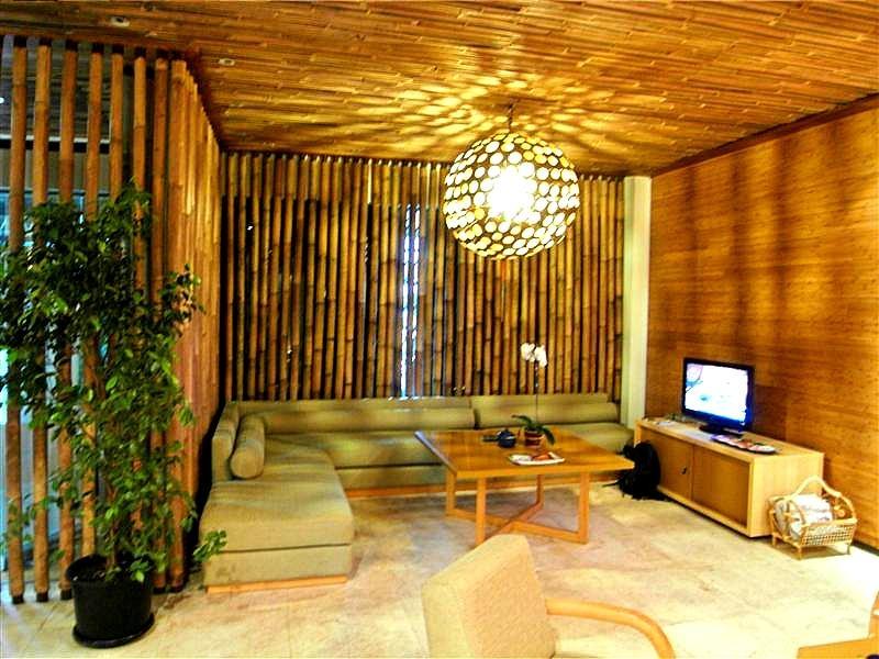 Отделочные материалы из бамбука
