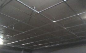 Потолок из акрилового стекла меняет интерьер и настроение