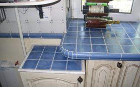 Своими руками кухонная столешница из керамической плитки