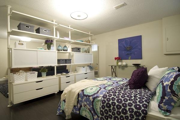 Советы по зонированию однокомнатной квартиры для пары с ребенком