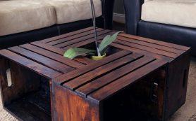 15 удивительных предметов мебели, сделанных из ящиков