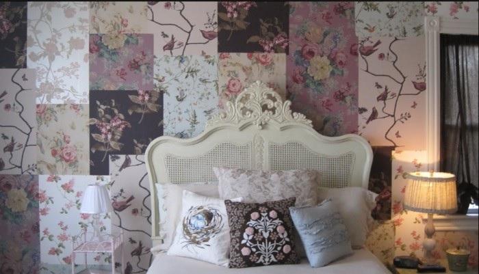 Декор из обоев для стен и мебели