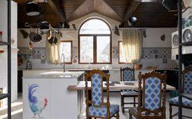 Как оформить кухню в стиле кантри: реальный пример