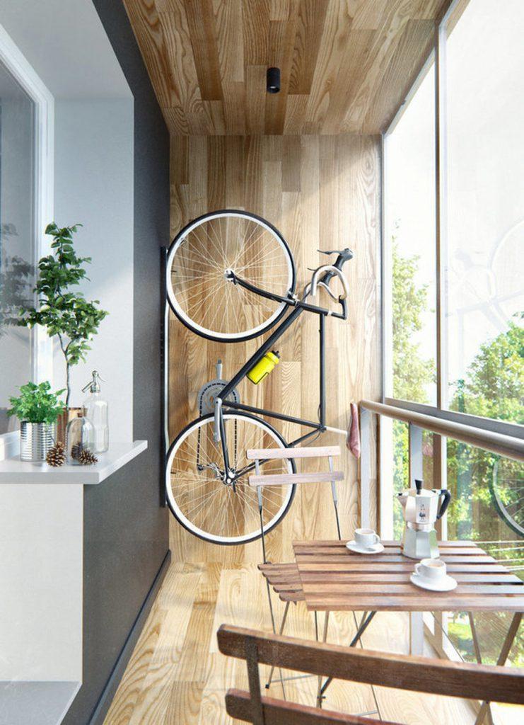 Актуально: 7 идей хранения велосипеда в квартире