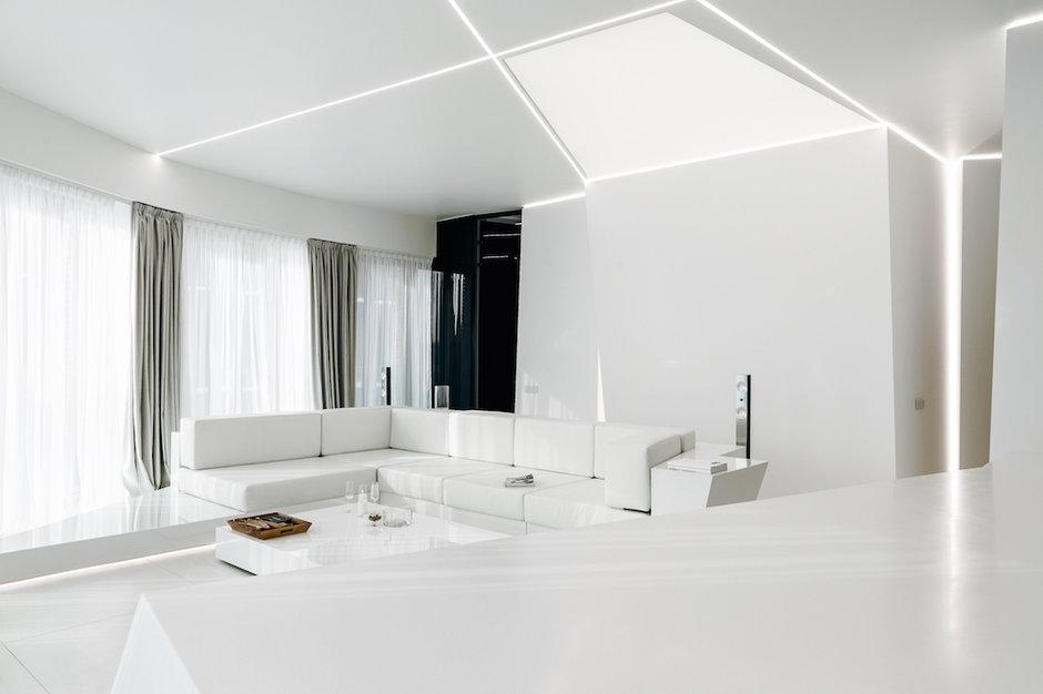 Ультрасовременная квартира в стиле «новый модернизм»