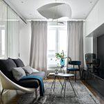 Современная роскошь в интерьере двухкомнатной квартиры