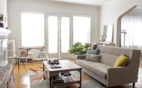 17 идей для небольшой светлой гостиной
