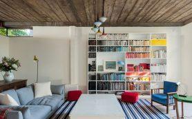 30 стильных идеи оформления книжных полок
