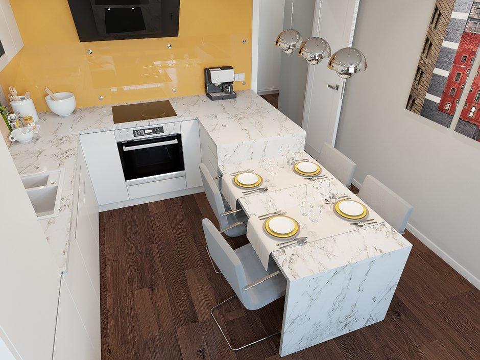 Как найти место для столовой в маленькой квартире