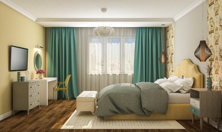 Как обустроить спальню с гардеробной комнатой?