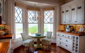 Квартира с эркером: 10 способов обыграть необычное окно