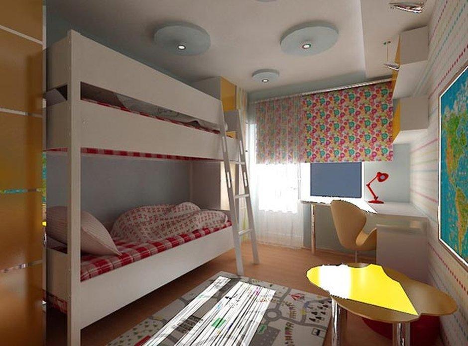 Планировка квартиры для семьи с тремя детьми-непоседами