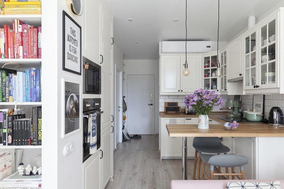 Как обустроить маленькую кухню: 9 идей
