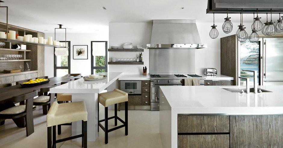 7 дизайнерских кухонь с характером