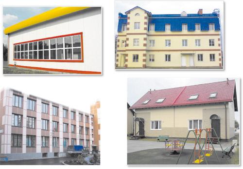 Сэндвич-панели для строительства и отделки здания