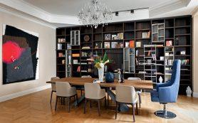 Интерьер квартиры в знаменитом Толстовском доме