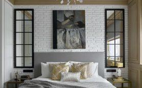 8 идей, как оформить стену в изголовье кровати