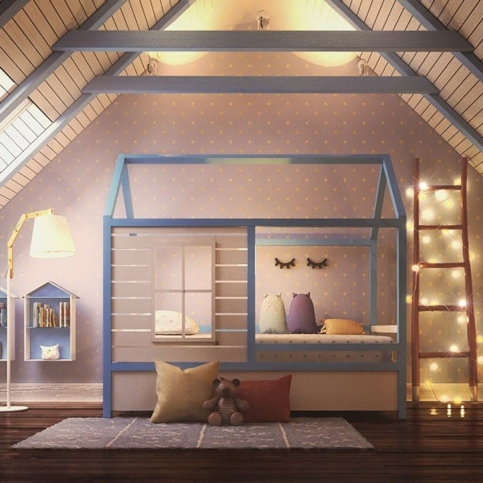 Нужна ли ребенку кровать-домик?