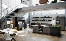 Технологичные разработки дизайнеров кухонь