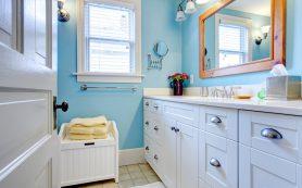 Как обустроить большую ванную для семьи