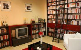 Как сделать книжный шкаф стильным элементом интерьера