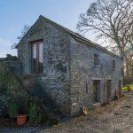 Превращение старого каменного амбара в жилой дом для отдыха