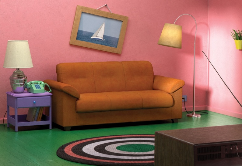 IKEA воссоздала интерьеры из «Симпсонов» и «Друзей»
