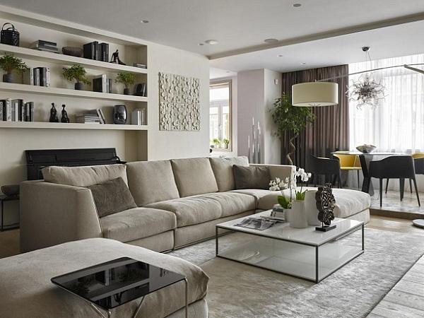 Нюансы декорирования двухкомнатной квартиры