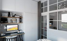 Выбираем мебель для спальни площадью 8 квадратов