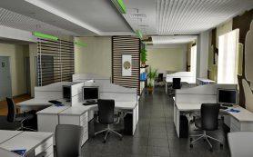 Как выполняется ремонт офиса