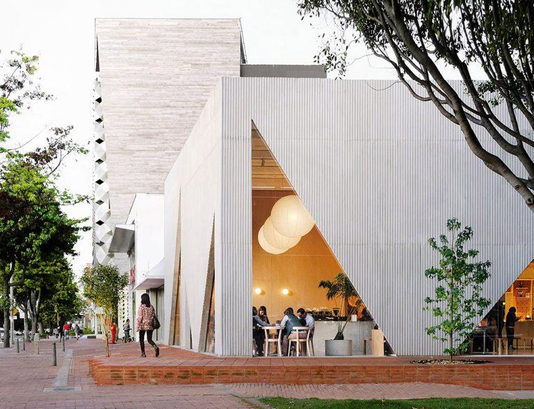 Архитекторы из Боготы устроили «соревнование» кругов и треугольников