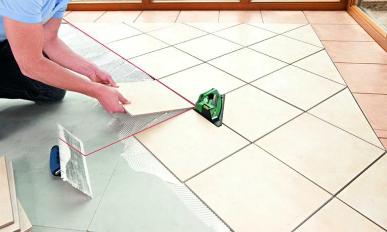 Как производится укладка плитки на пол своими руками?
