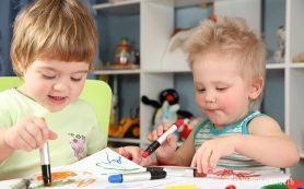 Оформление совместной детской комнаты