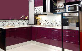 Красота и практичность кухонных фасадов