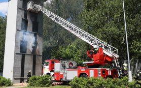 До какого этажа достают лестницы пожарных машин?