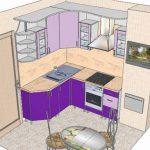 Ремонт кухни в панельном доме - нюансы