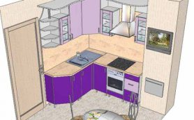 Ремонт кухни в панельном доме — нюансы