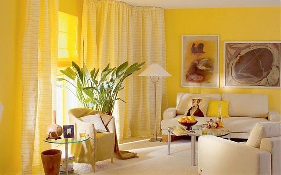 Улыбка солнца в вашем доме: как использовать модный оттенок «фрезия» в интерьере