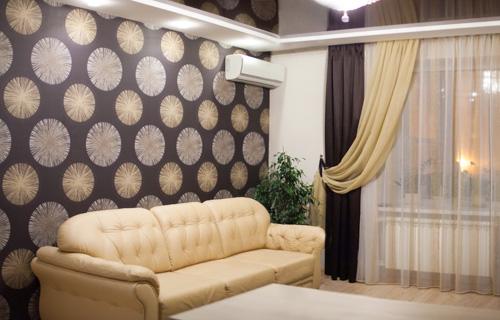Как подобрать шторы к мебели