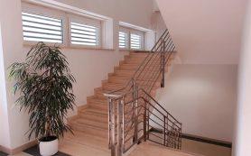 Лестница в интерьере: дерево или железобетон?