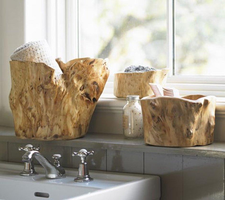 Как оформить ванную в эко-стиле: 5 простых приемов