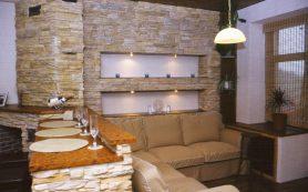 Отделка интерьера и экстерьера декоративным камнем