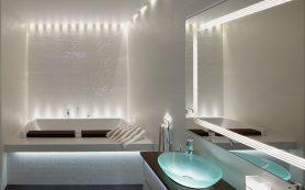 Как подобрать освещение для ванной