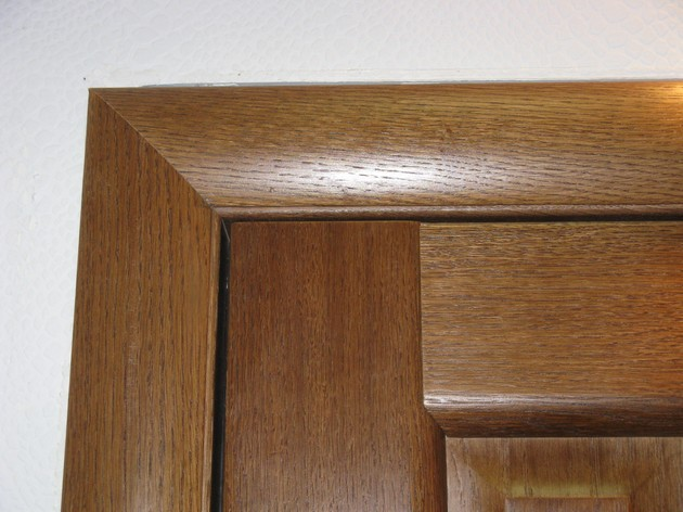 Установка стандартных дверных блоков