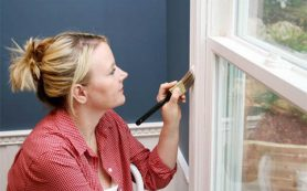Покраска деревянных окон без лишних проблем
