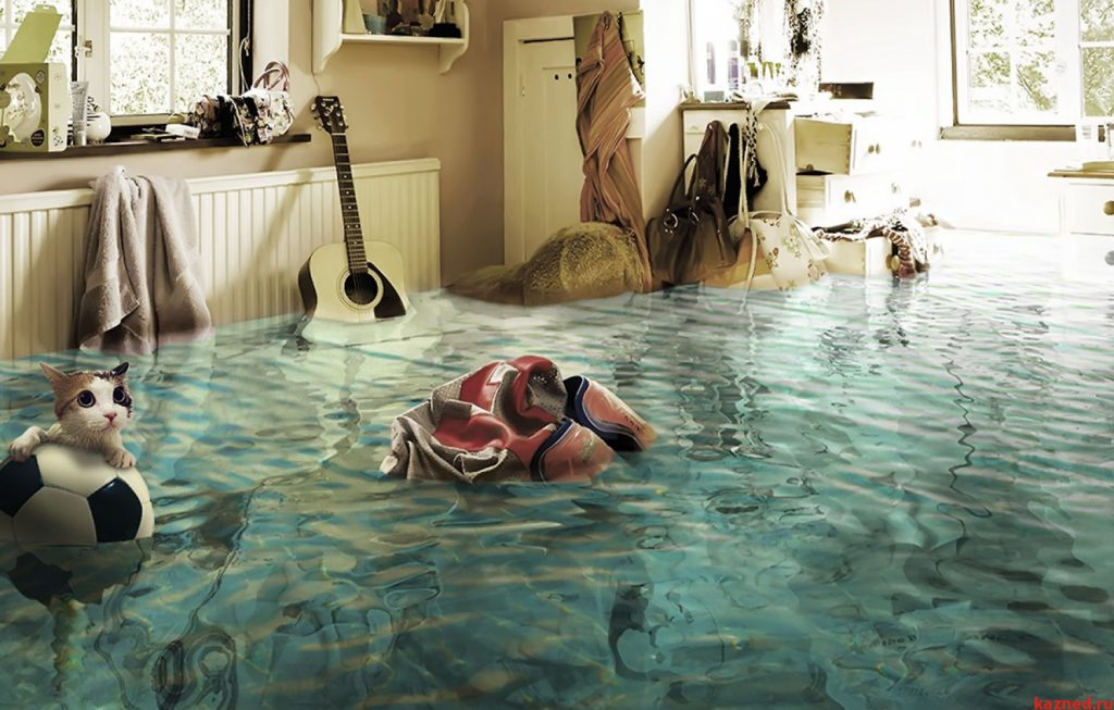 Как осушить помещение, если вашу квартиру затопило?