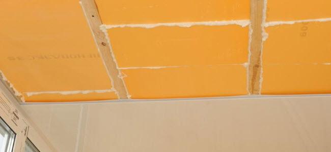 Как правильно утеплить потолок пеноплексом