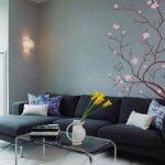 Декорирование стен своими руками и подручными материалами